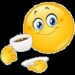 9217662-emoticon-bere-il-caffe